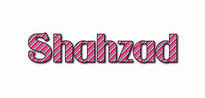 Shahzad Text Logos