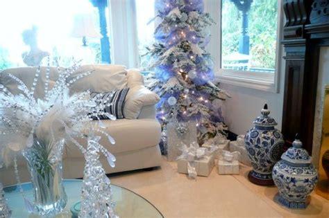 decorating a blue white christmas ideas inspiration