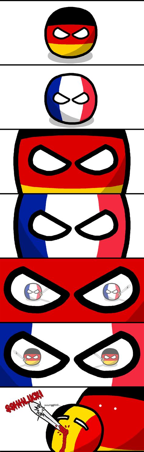 Submitted 9 days ago by lekayra. Image - France vs Germany.png | Polandball Wiki | FANDOM ...