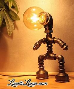 Lampe Industrielle A Poser : les 25 meilleures id es de la cat gorie lampe industrielle sur pinterest luminaire industriel ~ Teatrodelosmanantiales.com Idées de Décoration