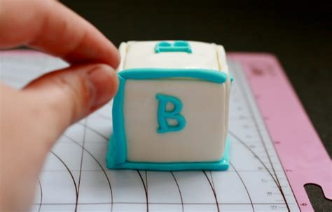 5 letter edible fondant block letters cake cupcake how to make baby block cake toppers cakejournal 13919