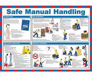 Safe Manual Handling Poster  U2014 Licensed Trade Supplies