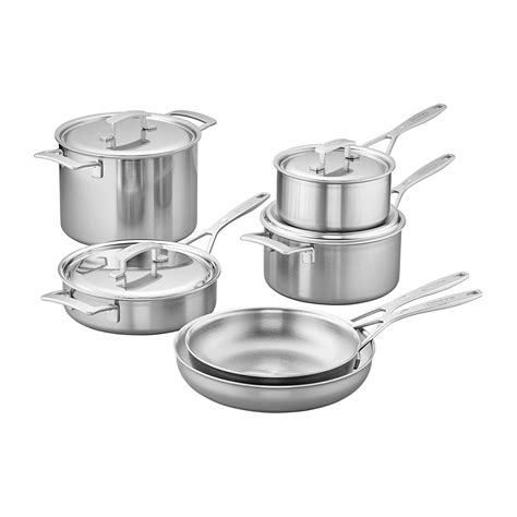 cookware demeyere stainless steel ply industry pc budget every rivetless pros sets pots brands excellent pans zwilling coating performance makes
