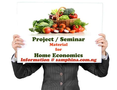 Impact Of Home Economics Laboratory For Effective Teaching ...