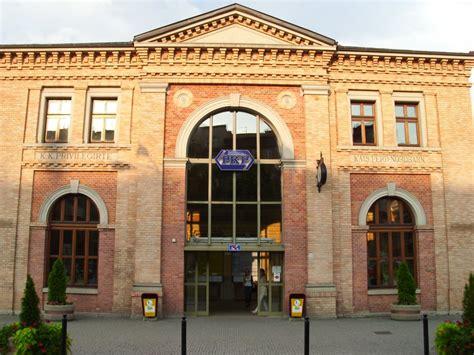 Der Eingang Von Dem Habf In Bielsko Biala Bahnbilderde