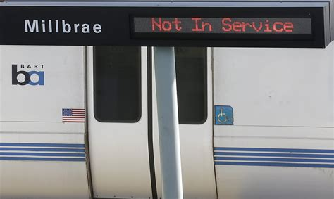 bart delays  millbrae power outage sfgate