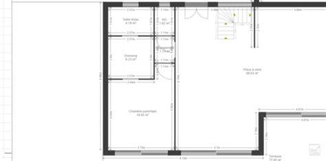 chambre en enfilade definition des avis sur notre premier jet de plan maison 140 m2 r 1