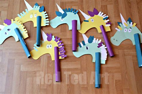 unicorn hobby craft ted 263 | Unicorn Party Crafts for Preschoolers