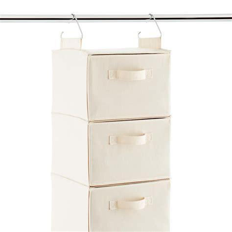 sweater storage 6 compartment canvas hanging sweater organizer