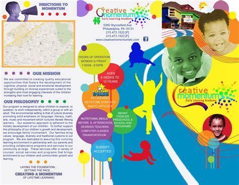 outside preschool brochure created by newsuan designs 871 | aabd6715141bfb2b68f430cb56abab3c