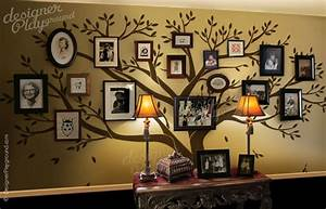 halloween contest time the seasonal home With awesome family tree wall decal with frames