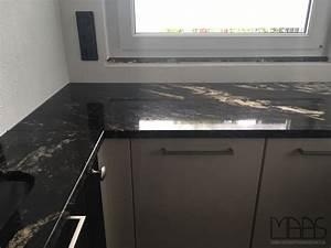 Arbeitsplatten Aus Granit : kerpen matrix titanium granit arbeitsplatten ~ Michelbontemps.com Haus und Dekorationen