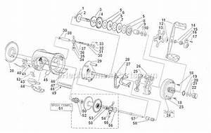 Abu Garcia 5600 C Parts List And Diagram