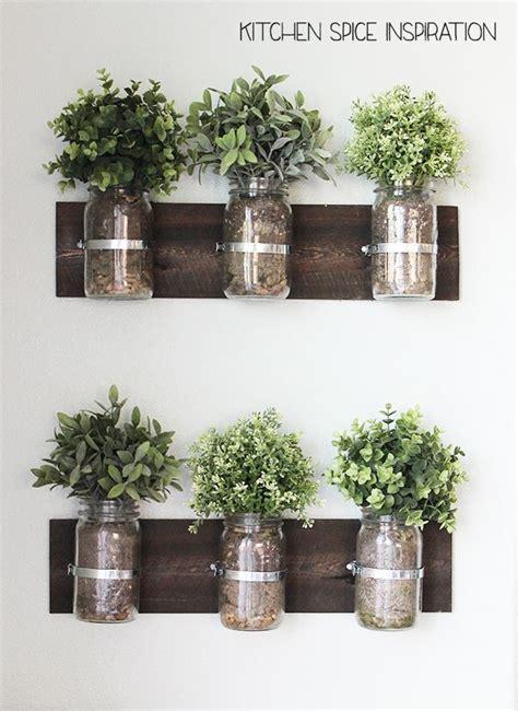 fresh herb garden   kitchen wall   kitchen