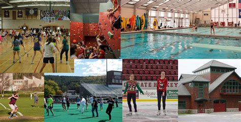 Fitness and Recreation Facilities | Colgate University