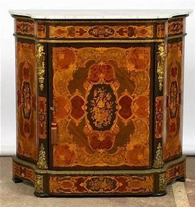 meuble d39appui de style napoleon iii en amarante bois With meuble style napoleon 3