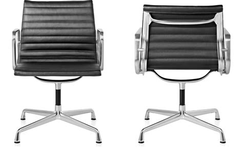 eames 174 aluminum side chair hivemodern