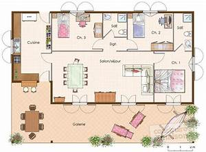 image plans de villa joy studio design gallery best design With plan de maison a construire