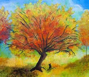 fall tree painting Archives - Jaime Haney Fine Art & Prints