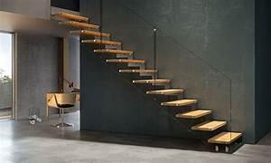 Stahltreppe Mit Holzstufen : treppenbau heinlein plz 95491 ahorntal stahltreppe mit holzstufen und glasgel nder treppen ~ Orissabook.com Haus und Dekorationen