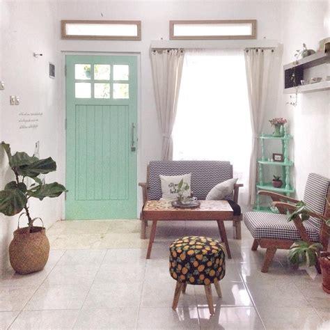 menata ruang tamu minimalis tampak luas desain ruang