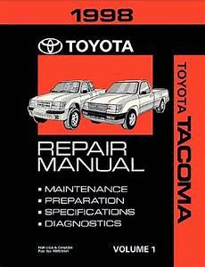 1998 Toyota Tacoma Oem Repair Manual