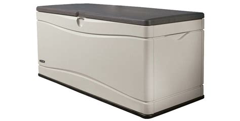 lifetime 60012 large deck box dimensions lifetime storage box model 60012 feel the home
