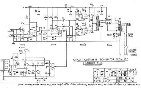 15 Schematic Wiring by Wem Dominator Custom 15 Schematic