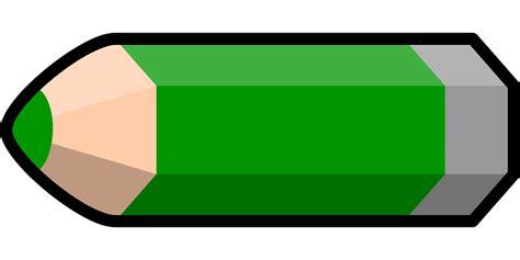 grand bureau noir image vectorielle gratuite crayon vert crayon de