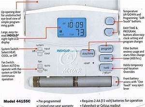 Hunter Thermostat 44132 Wiring Diagram