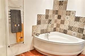 Carreaux De Ciment Salle De Bain : salle de bain style industriel r novation jenychooz ~ Melissatoandfro.com Idées de Décoration