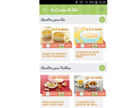 application recette cuisine cuisine bebe 28 images recettes de cuisine 224 la