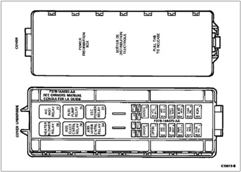 1992 Ford Ranger Xlt Fuse Box Diagram by I Need A Fuse Box Diagram For A 1992 Ford Ranger Solved