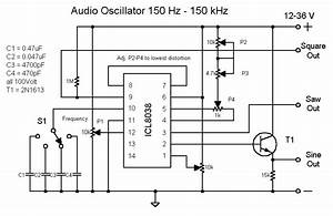 Low Distortion Audio Generators