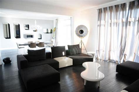 un appartement noir et blanc tony lem 226 le int 233 rieurs