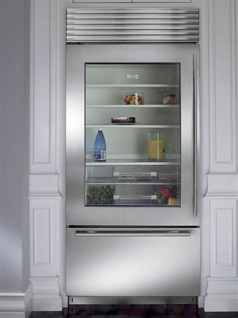 Best 25  Glass front refrigerator ideas on Pinterest