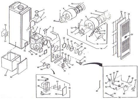duo therm furnace replacement parts engine diagram  duo therm furnace parts breakdown