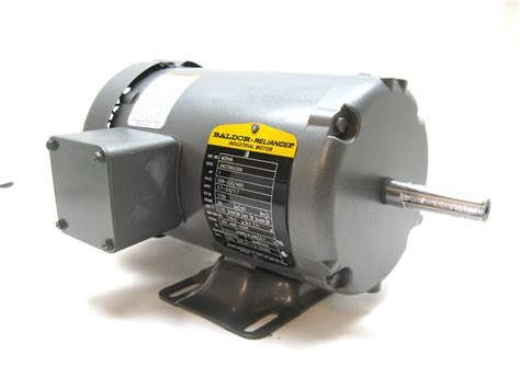 Baldor Electric Motors by Baldor M3546 Motor El 233 Ctrico 1 Hp 208 230 460v 1725 Rpm 56