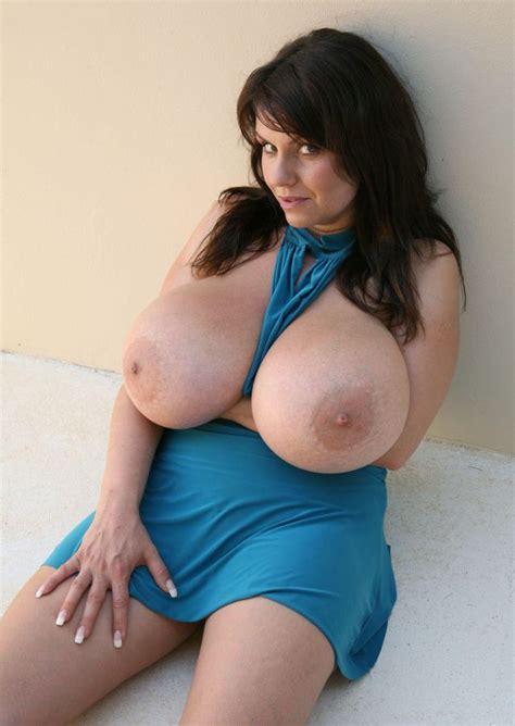 Big Heavy Tits Bursting Out Of A Blue Dress Voluptuous