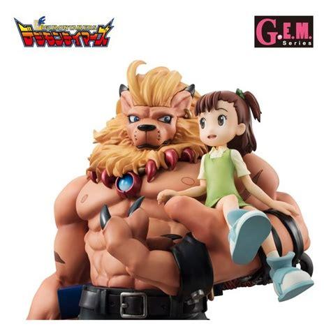 Digimon Tamers Gem Series Leomon And Katou Juri Ltd