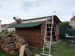 Sur Quoi Poser Un Abri De Jardin : construction d 39 un abri de jardin youtube ~ Dailycaller-alerts.com Idées de Décoration
