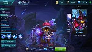 Cyclops Starsoul Magician Mobile Legends Bang Bang