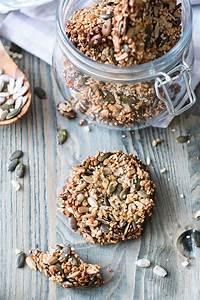 Backen Mit Eiweiß : sesam cracker mit mandeln low carb rezept zum selber machen ~ Lizthompson.info Haus und Dekorationen