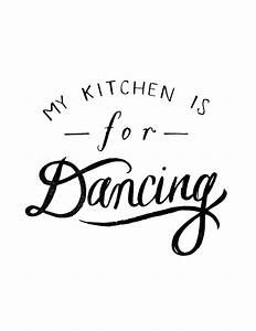 image of my kitchen is for dancing words of wisdom With kitchen colors with white cabinets with free christmas wall art printables