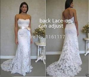 2015 new sexy hot lace bridal gown wedding dress spring for Casual wedding dresses for spring