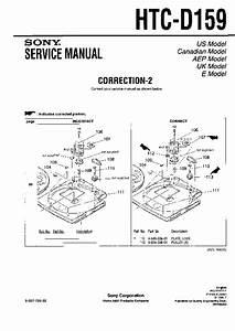 Sony Htc-d159 Service Manual