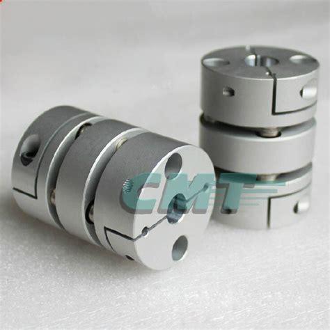flexible aluminum alloys double diaphragm coupling  servo  stepper motor couplings