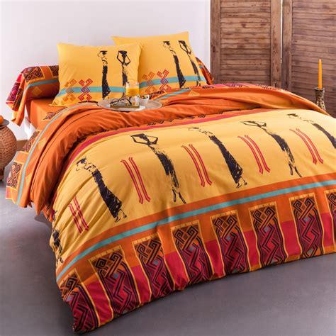 attractive housse de couette afrique 14 housse de couette africaine linge de maison en tissu