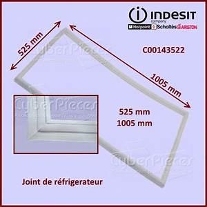 Joint De Refrigerateur : joint de porte de r frig rateur indesit c00143522 pour joints refrigerateurs et congelateurs ~ Melissatoandfro.com Idées de Décoration