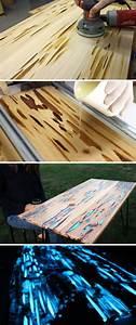 Resine Pour Bois : utiliser de la r sine pour bois phosphorescente pour ~ Premium-room.com Idées de Décoration
